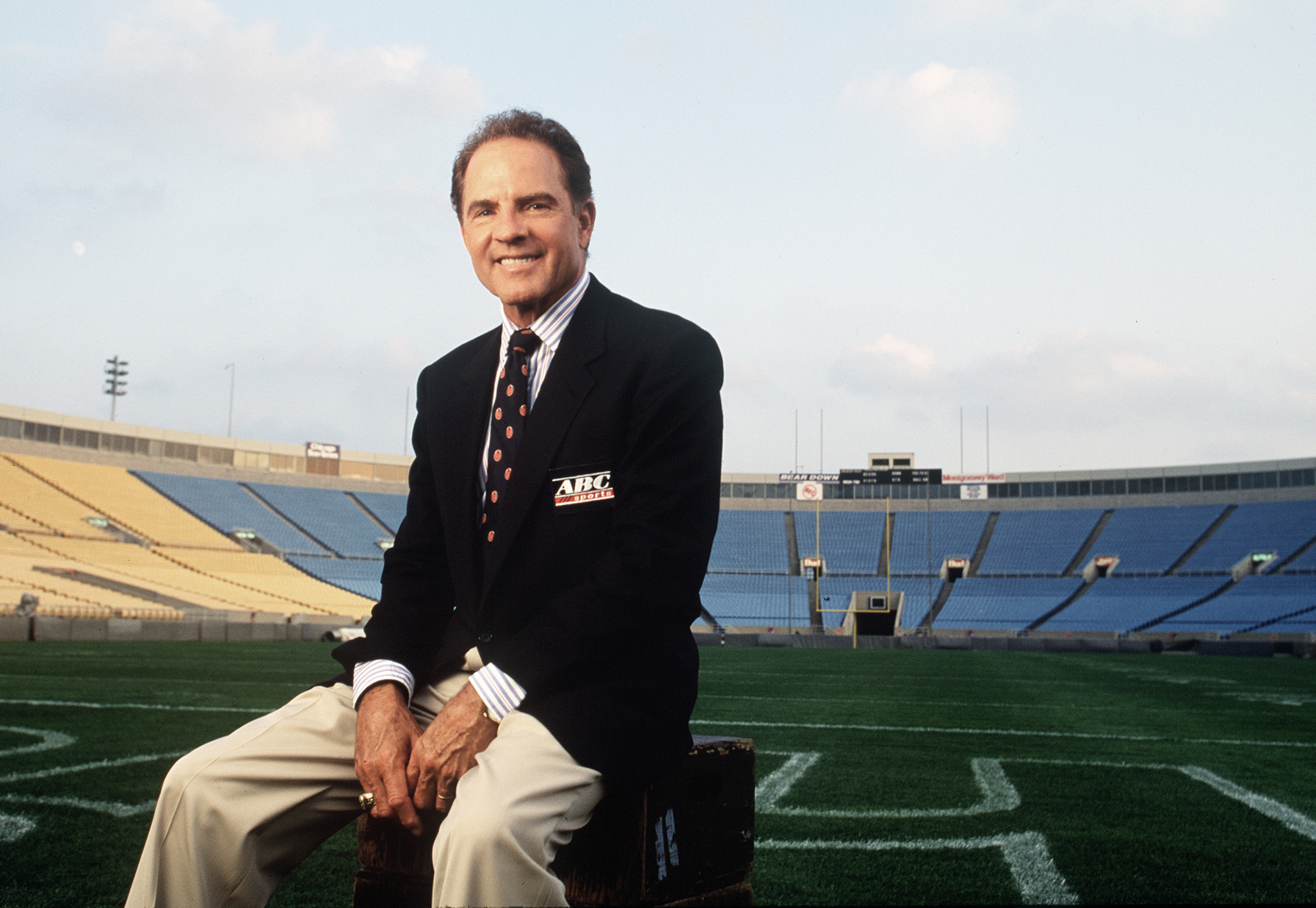 Frank Gifford (Photo courtesy:  ESPN)