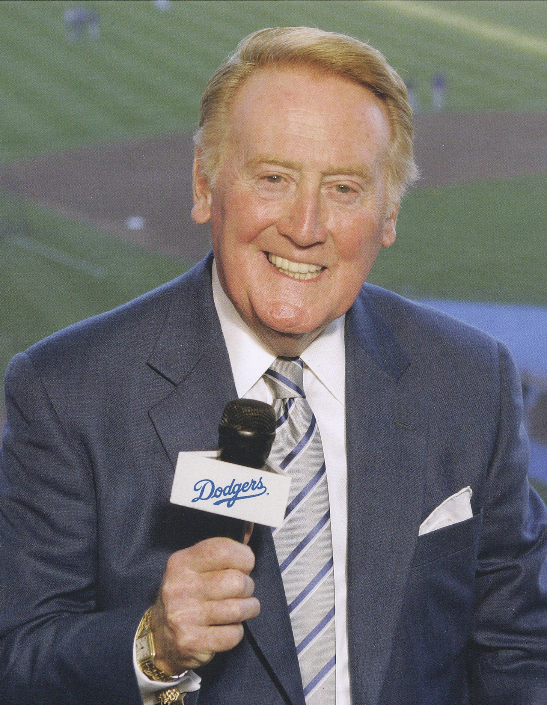 Vin Scully (Los Angeles Dodgers Photo)